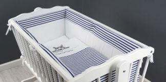 Piękna i komfortowa pościel do łóżeczka