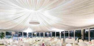 dekoracje w sali weselnej